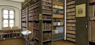 Kulissenbibliothek, Franckesche Stiftungen zu Halle